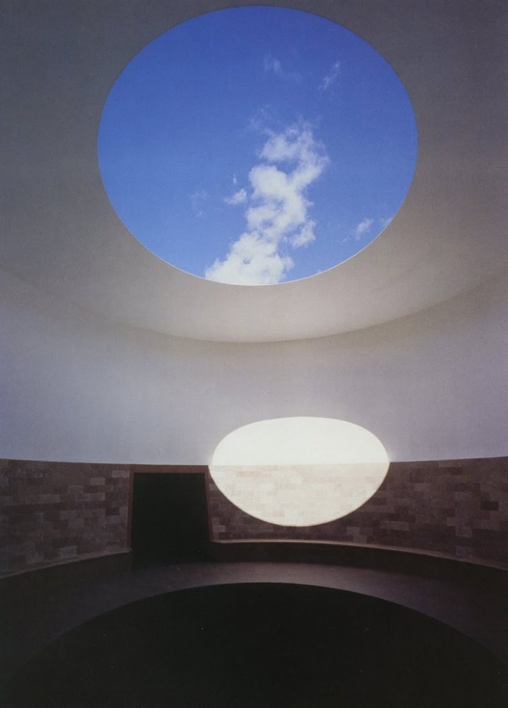 Turrell Roden Crater Detail of Sky Tunnell 1977-present