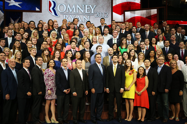 Romney Accepts Party Nomination At The Republican National Convention