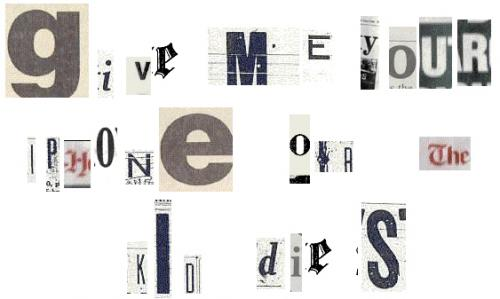ransom-note