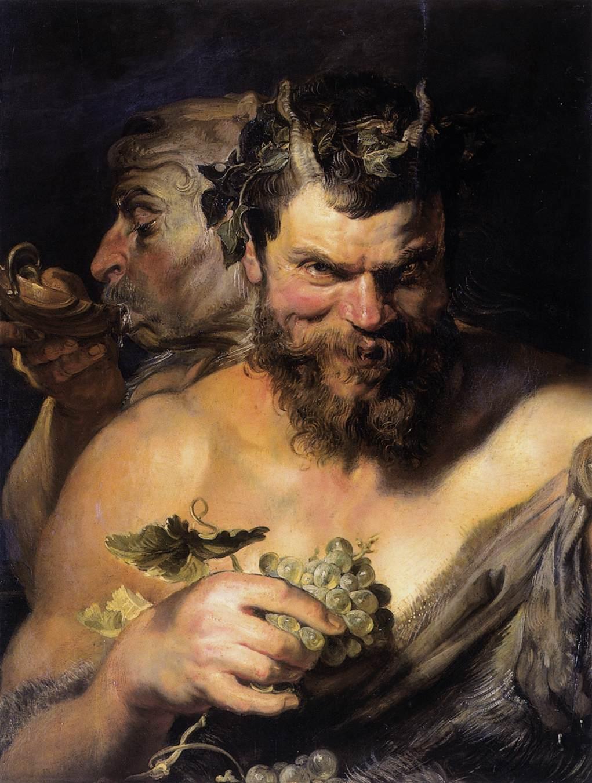 Peter_Paul_Rubens_-_Two_Satyrs_-_WGA20303